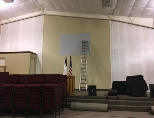 Church Painters Indianapolis | Elite Pro Painting | The West Pines Baptist Church Project