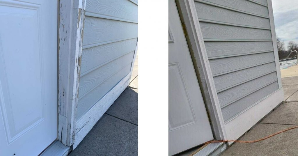 Exterior Painting Protects Wood